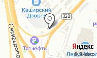 Каолина на карте