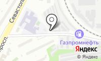 Гаражно-строительный кооператив №25 на карте