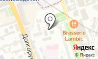 Автостоянка на ул. Долгоруковская на карте