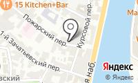 На Курсовом на карте