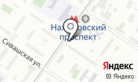 Станция Нахимовский проспект на карте