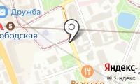 Автомойка на Краснопролетарской на карте