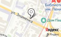 Дом Шамшиной на карте