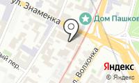 Знаменка на карте