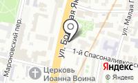 Гюго на карте
