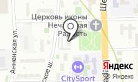 Муниципалитет внутригородского муниципального образования Марьина Роща на карте