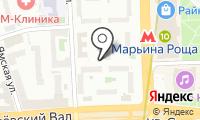 Шереметьевская на карте