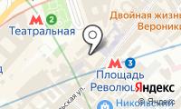 Особняк на Никольской на карте