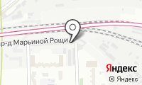 Шиномонтажная мастерская на Марьиной Рощи 2-ой на карте