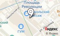 Ветошный на карте