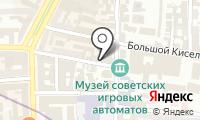 Представительство Красноярского края при Правительстве РФ на карте
