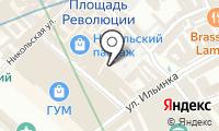 Детский ГУМ на карте