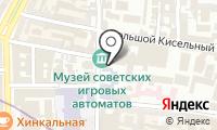 Институт стран Востока на карте