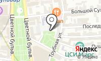 Автостоянка на Малом Сухаревском пер на карте