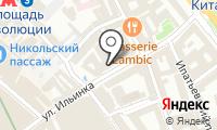 Министерство финансов РФ на карте