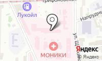 Мособлфармация на карте
