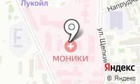 Офтальмологическая клиника на карте