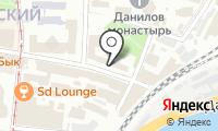 Даниловская на карте