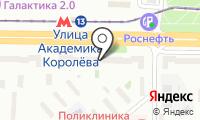 Первоцвет на карте