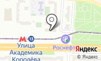Москомсвязь на карте