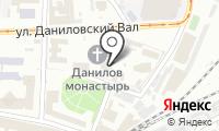 Храм Троицы Живоначальной в Даниловском монастыре на карте