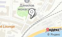 Храм Воскресения Словущего в Даниловской Слободе на карте