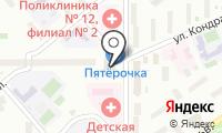 Ювелирная мастерская на Цандера на карте