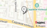 Сафир на карте