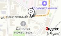 Даниловская Лавка на карте