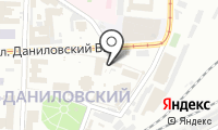Храм Симеона Столпника в Даниловском монастыре на карте
