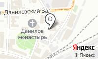 Храм Святых Отцов Семи Вселенских Соборов в Даниловском монастыре на карте