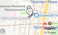 Монро на карте