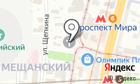 Храм святителя Филиппа митрополита Московского в Мещанской Слободе на карте
