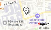 Стоматология на Строченовском на карте