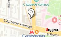 Ажурный на карте