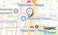 Киоск по продаже цветов на карте