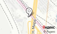 Шиномонтажная мастерская на Рижской площади на карте