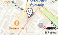 Почтовое отделение МОСКВА на карте