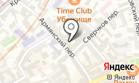 Представительство республики Карелия при Президенте РФ на карте