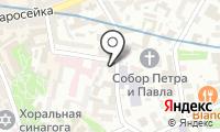 Тканиссимо на карте