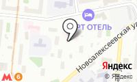 Автостоянка №16а на карте