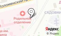 Детская поликлиника №91 на карте