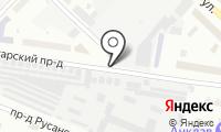 Автостоянка на Игарском проезде на карте