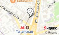 Московский театр на Таганке на карте