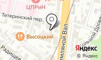 КСК групп на карте