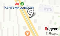 Станция Кантемировская на карте