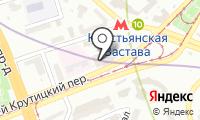 Метромаркет на карте