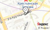 Станция Пролетарская на карте