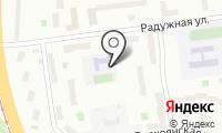 Дом детского творчества на Радужной на карте
