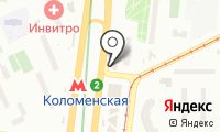 Бакинский бульвар на карте